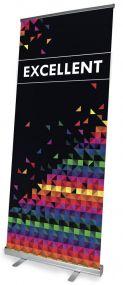 Excellent Rollup Banner 100 x 200 cm als Werbeartikel