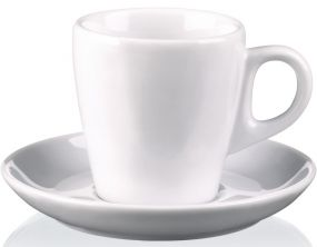 Espresso-Untertasse Pura als Werbeartikel