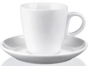 Cappuccino-Untertasse Pura als Werbeartikel