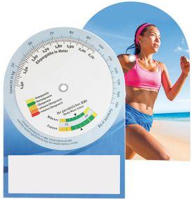 BMI-Rechner als Werbeartikel