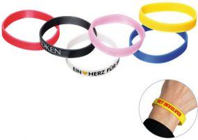 Silikon-Armband als Werbeartikel