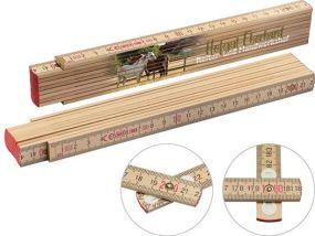 Holz-Zollstock als Werbeartikel