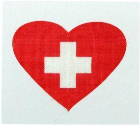 Fantape Herz einzeln Schweiz als Werbeartikel