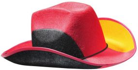 Cowboyhut Nations Germany als Werbeartikel