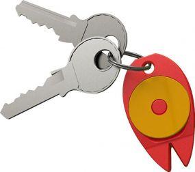 Schlüsselanhänger Zecke als Werbeartikel