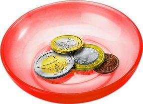 Spielgeldschälchen als Werbeartikel als Werbeartikel