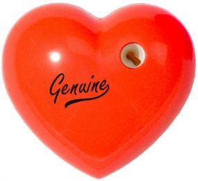 Bleistiftspitzer Herz als Werbeartikel