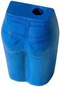 Bleistiftspitzer Jeans als Werbeartikel