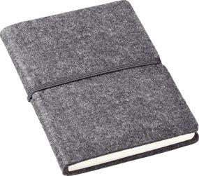 Notizbuch Filz DIN A5 als Werbeartikel