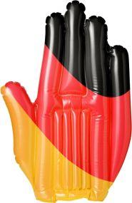 Aufblasbare Winkehand Deutschland als Werbeartikel