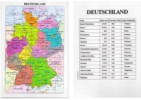 Puzzle Deutschland und seine Nachbarn als Werbeartikel