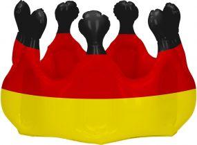 Aufblasbare Krone Deutschland als Werbeartikel