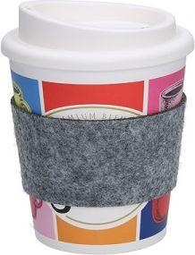 Kaffeebecher Premium small mit Manschette