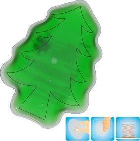 Gel-Wärmekissen Weihnachtsbaum als Werbeartikel