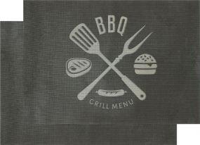 Grillmatte BBQ, 2er Set als Werbeartikel