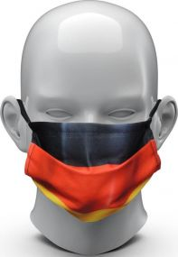 Community-Maske Nations als Werbeartikel