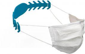 Maskenhalterung Comfort, antibakteriell als Werbeartikel
