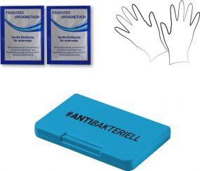 Hygienebox V3, antibakteriell als Werbeartikel
