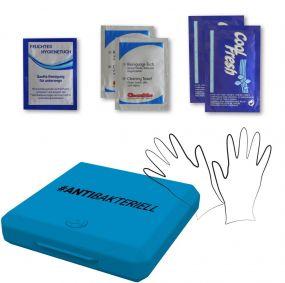 Hygienebox V1, antibakteriell als Werbeartikel