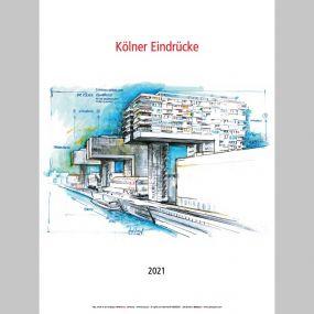 """Kalender """"Köln 2021"""" als Werbeartikel"""