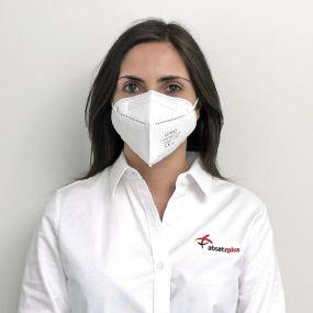FFP2 Atemschutzmaske Luyao als Werbeartikel