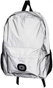Rucksack Flective Bagpack mit Ihrem leuchtenden LED-Logo als Werbeartikel