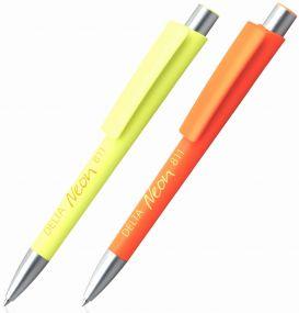 Kugelschreiber Delta Neon als Werbeartikel