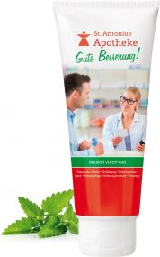 Muskel-Aktiv-Gel, 100 ml als Werbeartikel