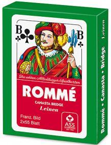 Rommé Französisches Bild inkl. Werbedruck als Werbeartikel