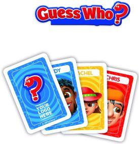 Hasbro - Guess Who mit Werbedruck als Werbeartikel