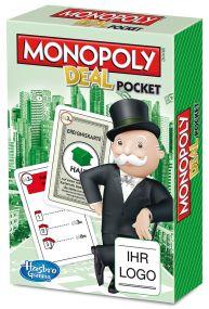 Hasbro - Monopoly Deal inkl. Werbedruck als Werbeartikel