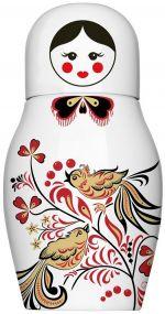 Porzellan Isolierflasche Matroschka als Werbeartikel
