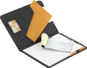 Schreibmappe In-Line mit Klemmleiste DIN A4 als Werbeartikel