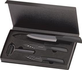 Keramik-Messerset 4-teilig als Werbeartikel