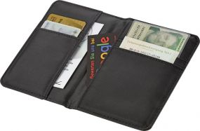 Ausweis Organizer Wave mit RFID Schutz als Werbeartikel