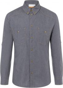 Button-Down Kochhemd Jeans-Style