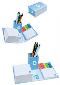 C-BOX Notizzettel Stiftebox inkl. Werbedruck als Werbeartikel
