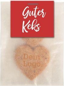 Guter Keks Bio² 2er-Tütchen als Werbeartikel