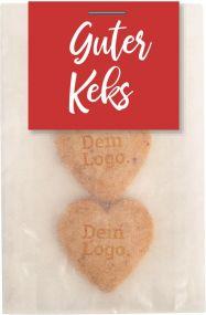Guter Keks Bio² 3er-Tütchen als Werbeartikel