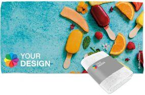 ActiveTowel® Relax Wohlfühl-Handtuch 140 x 70 cm mit individueller Banderole als Werbeartikel