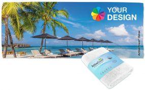 ActiveTowel® Relax Wohlfühl-Handtuch 180 x 70 cm mit Standard-Banderole als Werbeartikel