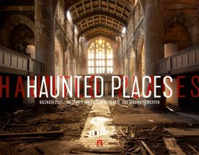 Kalender Haunted Places als Werbeartikel