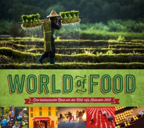 Kalender World of Food als Werbeartikel