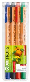 STABILO GREENpoint 4er Set Faserschreiber als Werbeartikel