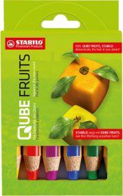 Stabilo woody 3 in 1 Farbstift 6er-Set als Werbeartikel