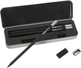 Stabilo black box Grafitstift-Set als Werbeartikel