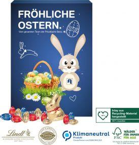 """Osterkalender Lindt """"Gourmet Edition"""" als Werbeartikel"""