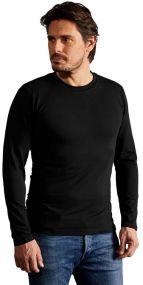 Promodoro Herren Slim Fit T-Shirt Langarm
