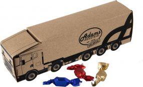 LKW Metallic Sweets Kraftpapier als Werbeartikel