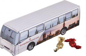 Reisebus Metallic Sweets als Werbeartikel
